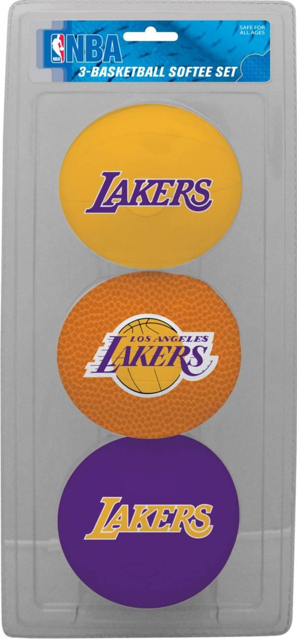 Rawlings Los Angeles Lakers Softee Basketball Three-Ball Set product image