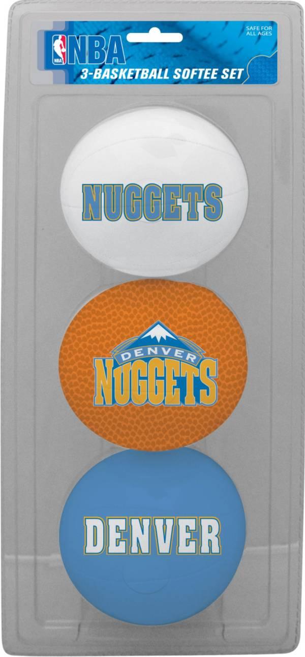 Rawlings Denver Nuggets Softee Basketball Three-Ball Set product image