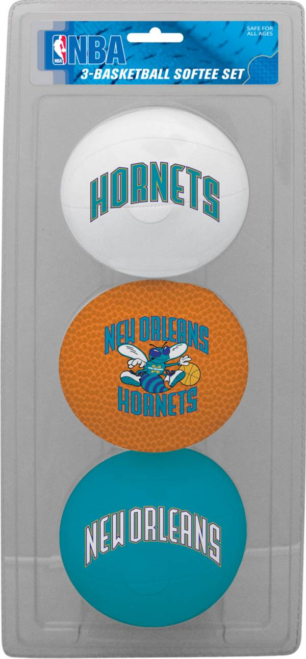 Rawlings New Orleans Hornets Softee Basketball Three-Ball Set product image