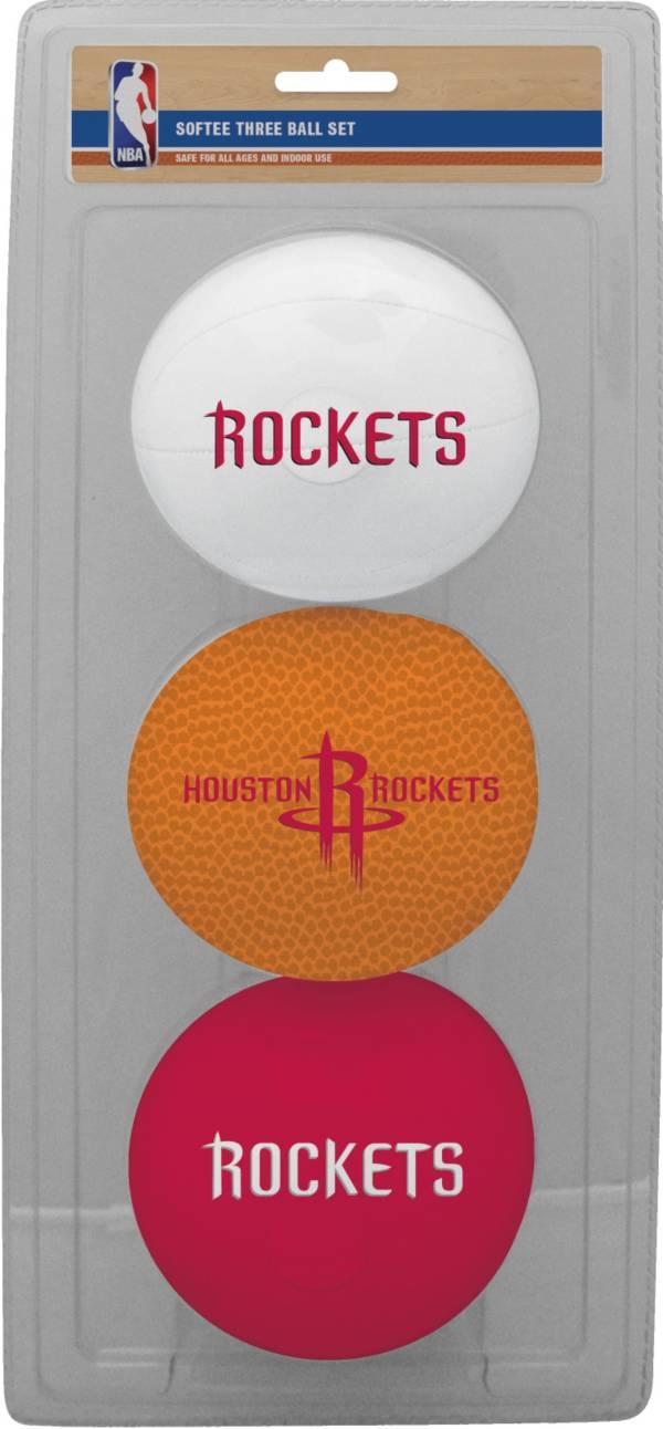 Rawlings Houston Rockets Softee Basketball 3-Ball Set product image