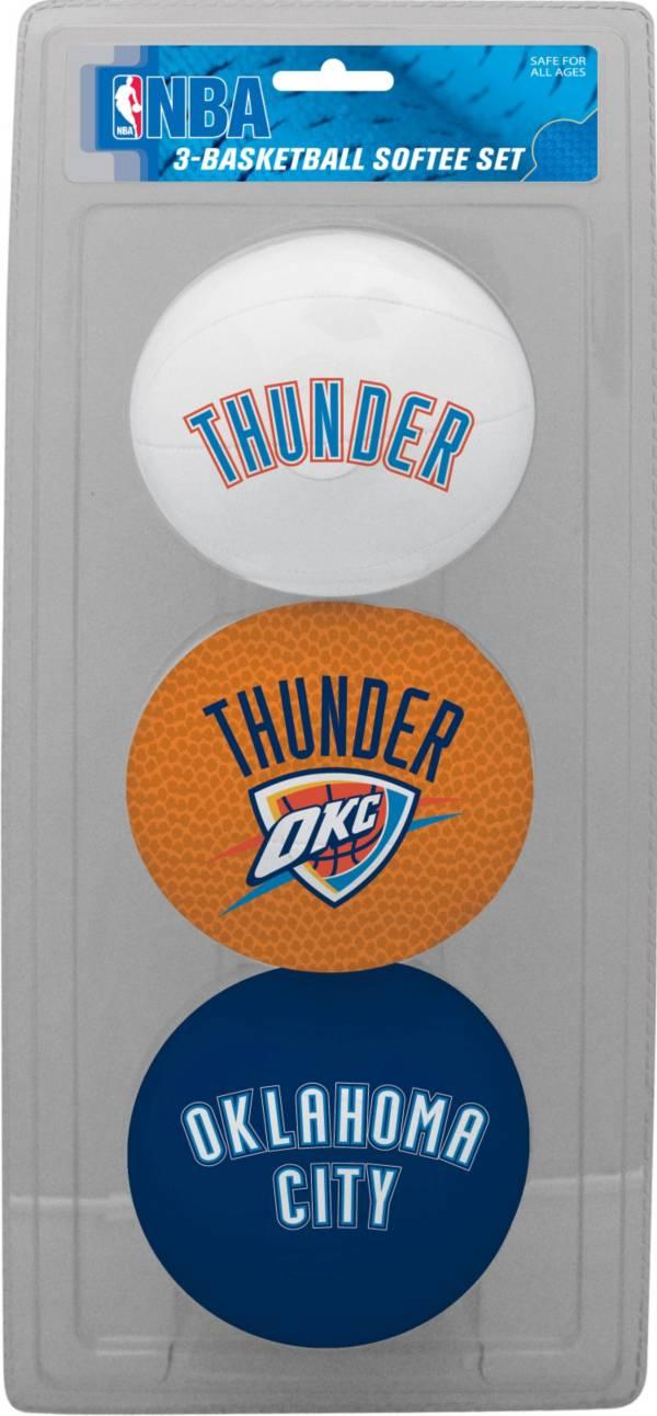 Rawlings Oklahoma City Thunder Softee Basketball Three-Ball Set product image