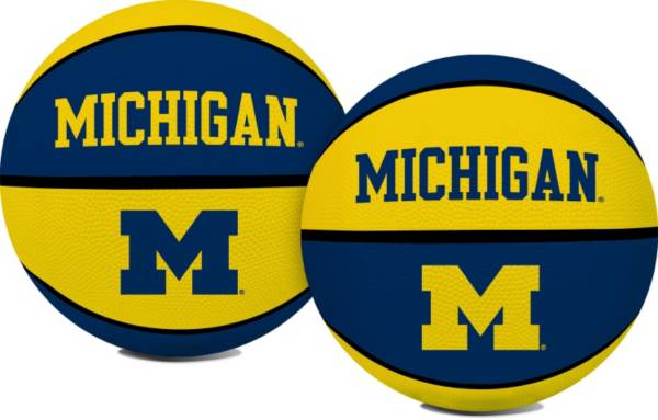 Rawlings Michigan Wolverines Full-Sized Crossover Basketball product image