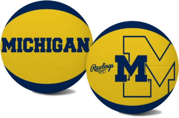 Rawlings Michigan Wolverines Alley Oop Youth-Size Basketball product image
