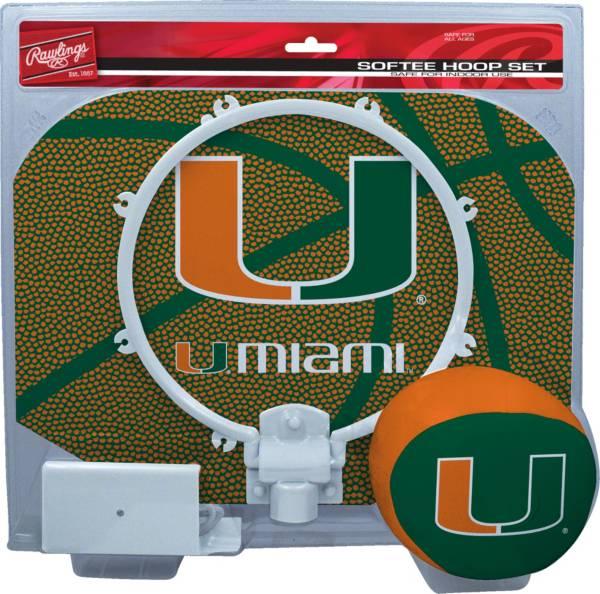 Rawlings Miami Hurricanes Softee Hoop Set product image