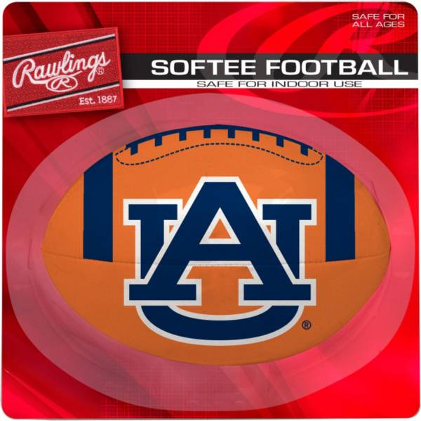Rawlings Auburn Tigers Quick Toss Softee Football product image