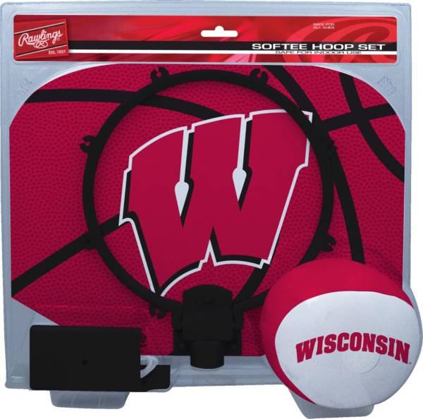 Rawlings Wisconsin Badgers Softee Hoop Set product image