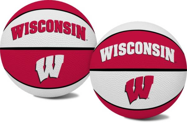 Rawlings Wisconsin Badgers Alley Oop Youth-Sized Basketball product image