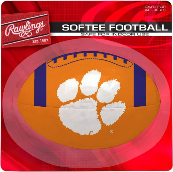Rawlings Clemson Tigers Quick Toss Softee Football product image