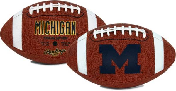 Rawlings Michigan Wolverines Game Time Full-Size Football product image