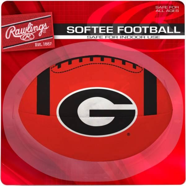 Rawlings Georgia Bulldogs Quick Toss Softee Football product image
