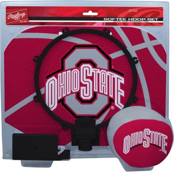 Rawlings Ohio State Buckeyes Slam Dunk Softee Hoop Set product image