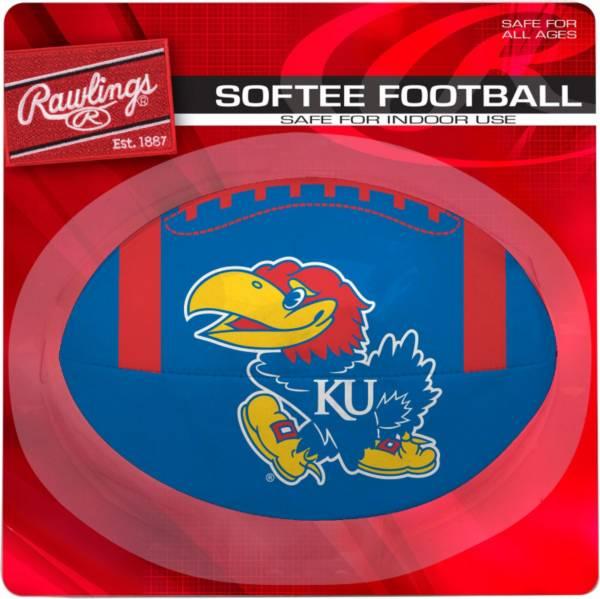 Rawlings Kansas Jayhawks Quick Toss Softee Football product image