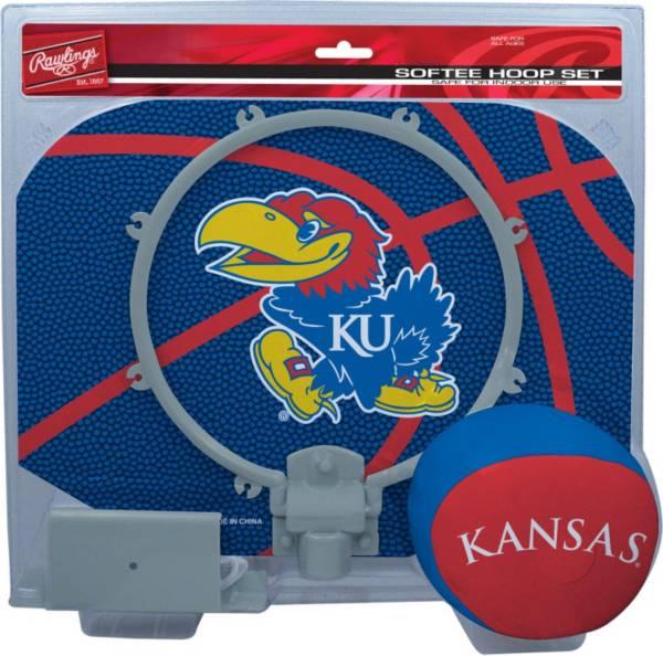 Rawlings Kansas Jayhawks Softee Slam Dunk Hoop Set product image