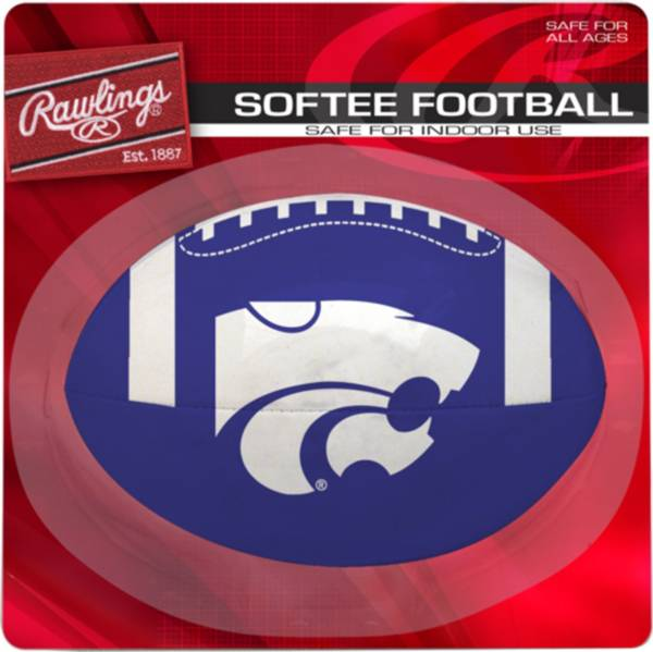 Rawlings Kansas State Wildcats Quick Toss Softee Football product image