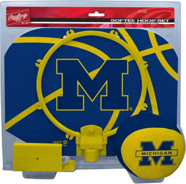 Rawlings Michigan Wolverines Slam Dunk Softee Hoop Set product image