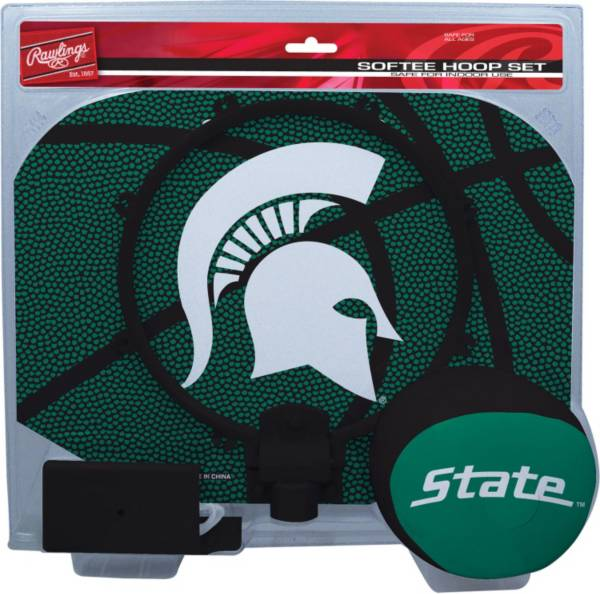 Rawlings Michigan State Spartans Slam Dunk Softee Hoop Set product image