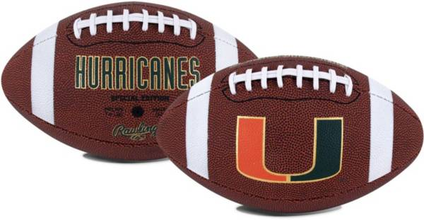 Rawlings Miami Hurricanes Game Time Full-Size Football product image