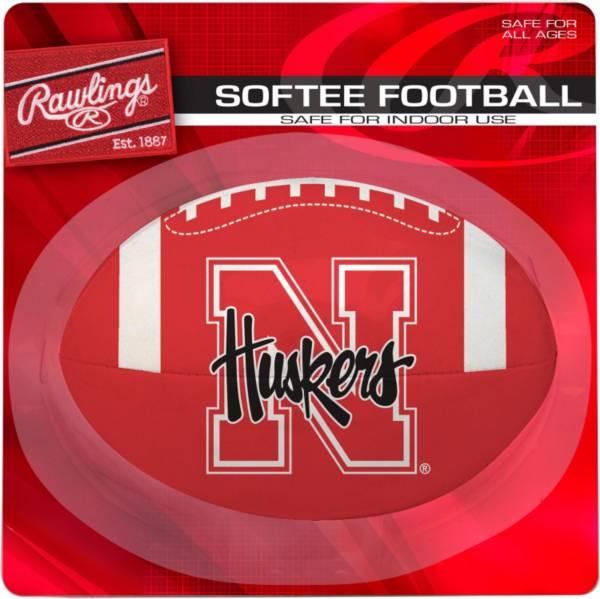 Rawlings Nebraska Cornhuskers Quick Toss Softee Football product image