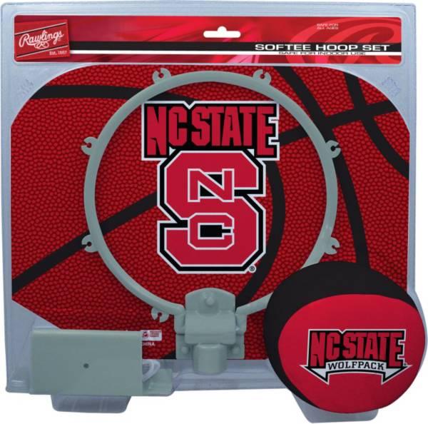 Rawlings NC State Wolfpack Slam Dunk Basketball Softee Hoop Set product image
