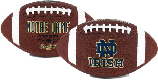 Rawlings Notre Dame Fighting Irish Game Time Full-Size Football product image