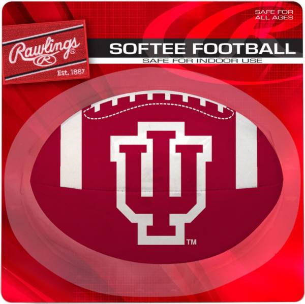 Rawlings Indiana Hoosiers Quick Toss Softee Football product image