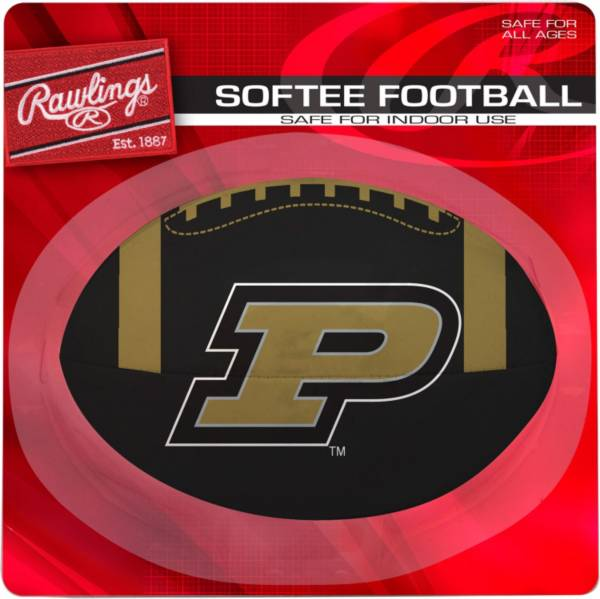 Rawlings Purdue Boilermakers Toss Softee Football product image