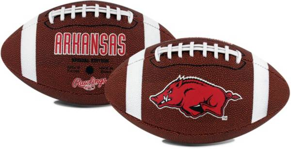Rawlings Arkansas Razorbacks Full-Sized Game Time Football product image