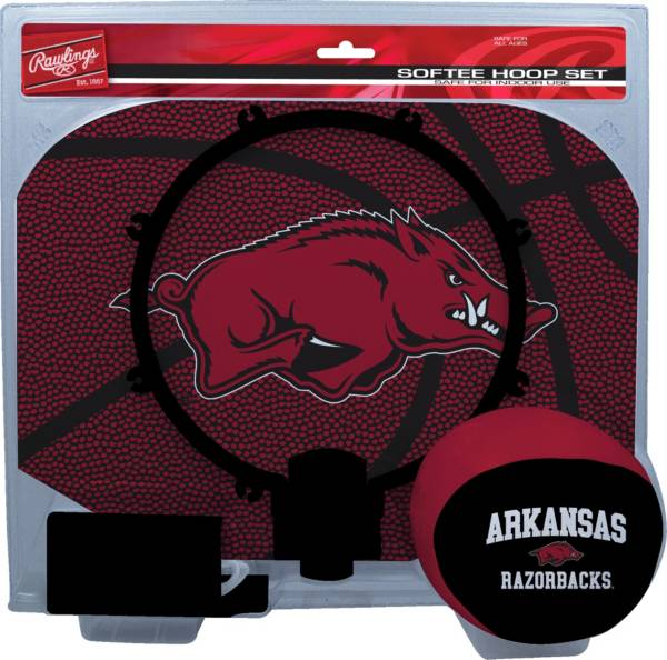 Rawlings Arkansas Razorbacks Softee Hoop Set product image
