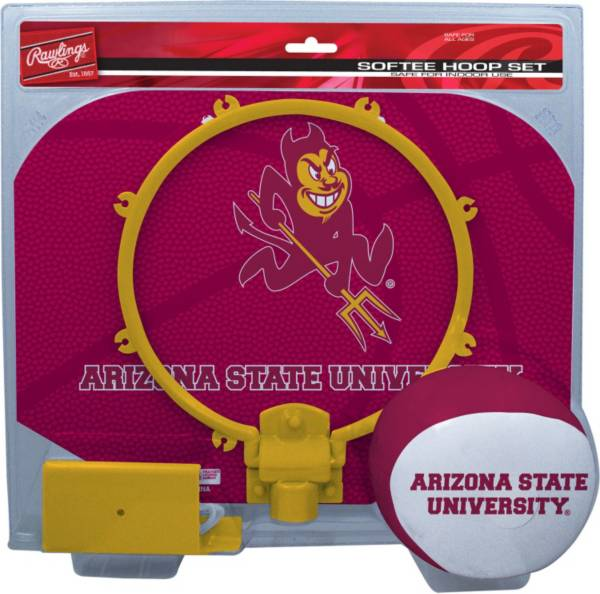 Rawlings Arizona State Sun Devils Slam Dunk Basketball Softee Hoop Set product image