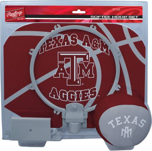 Rawlings Texas A&M Aggies Slam Dunk Basketball Softee Hoop Set product image