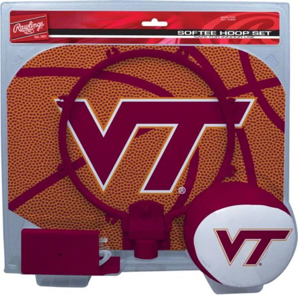 Rawlings Virginia Tech Hokies Slam Dunk Basketball Softee Hoop Set product image