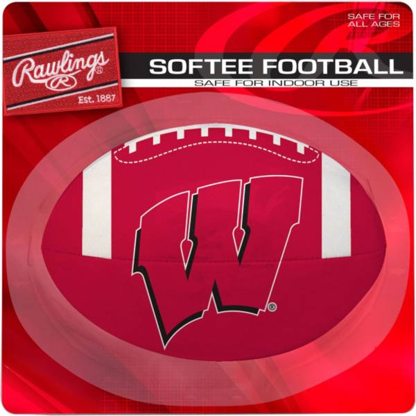 Rawlings Wisconsin Badgers Quick Toss Softee Football product image