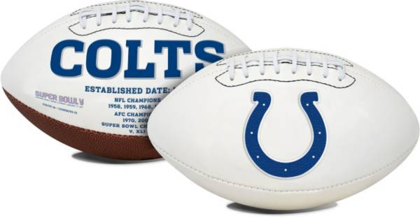 Rawlings Indianapolis Colts Signature Series Full-Size Football product image