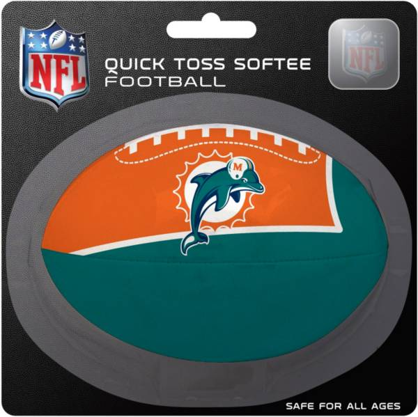 Rawlings Miami Dolphins Quick Toss Softee Football product image