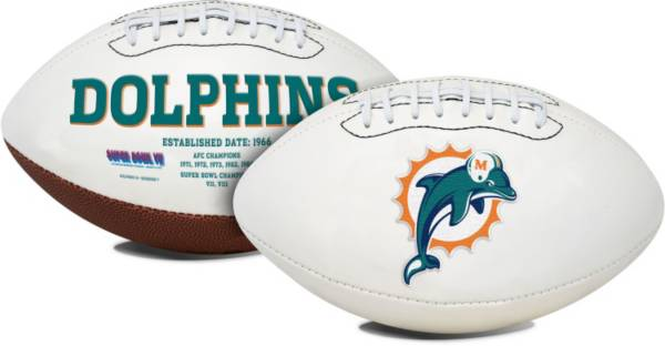 Rawlings Miami Dolphins Signature Series Full Size Football product image