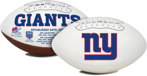 Rawlings New York Giants Signature Series Full-Sized Football product image