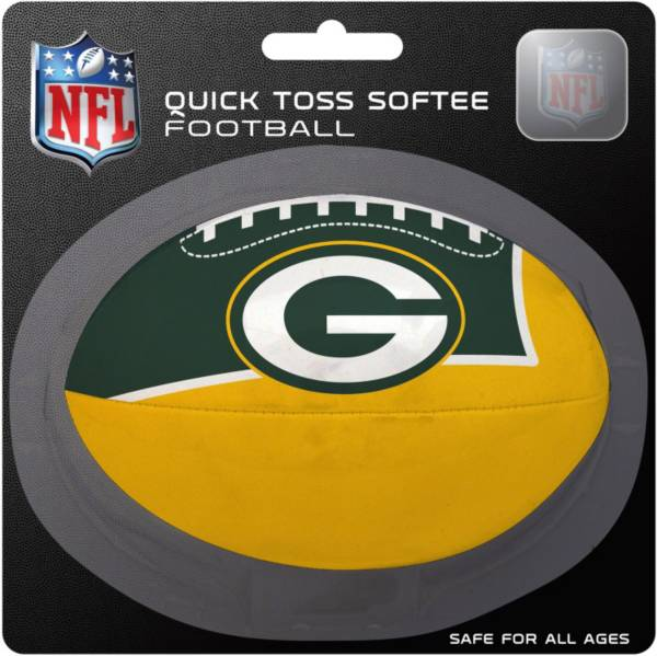 Rawlings Green Bay Packers Quick Toss Softee Football product image