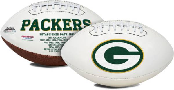 Rawlings Green Bay Packers Signature Series Full-Size Football product image