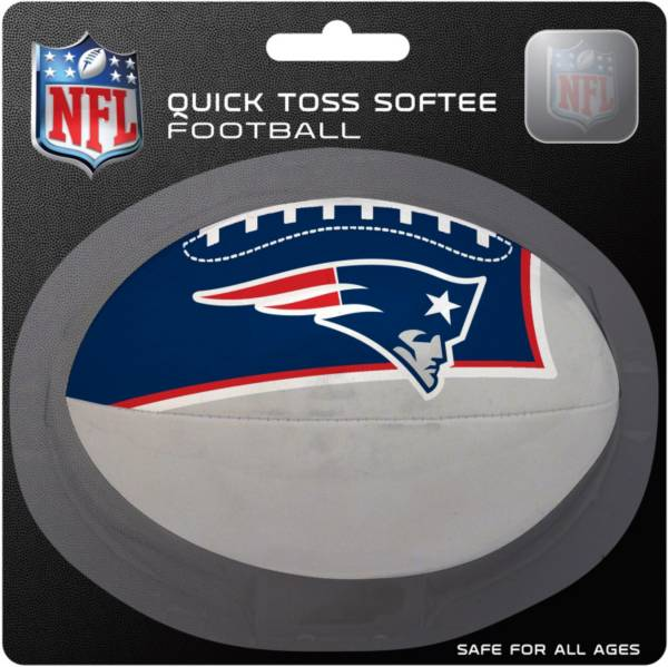 Rawlings New England Patriots Quick Toss Softee Football product image