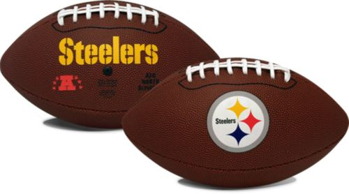 7906000bc20 Rawlings Pittsburgh Steelers Game Time Full-Size Football. noImageFound. 1