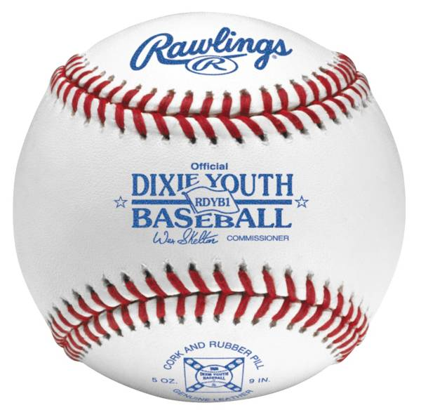 Rawlings RDYB1 Official Dixie Youth League Baseball product image