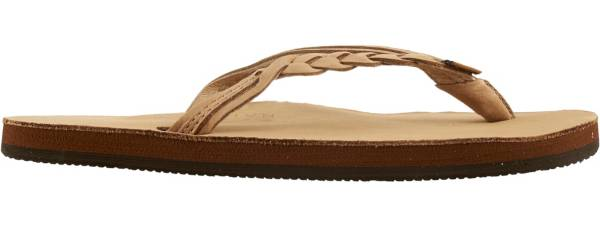 Rainbow Women's Leather 301 Flirty Braid Twist Flip Flops product image