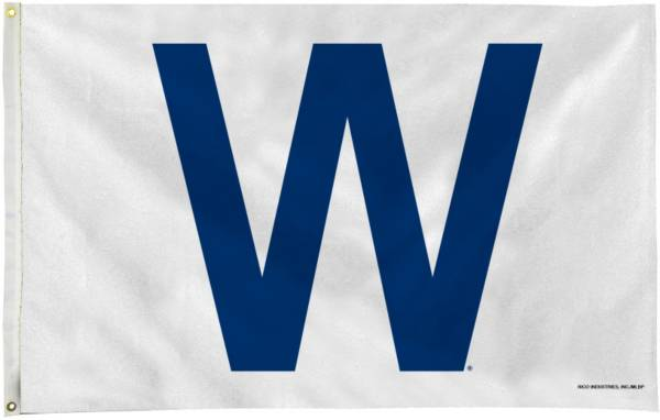 Rico Chicago Cubs W Win 3ft x 5ft Flag product image