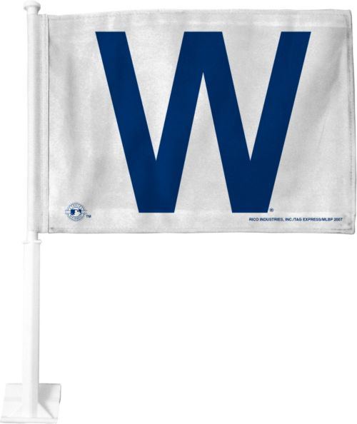 Rico Chicago Cubs W Win Car Flag Dick S Sporting Goods