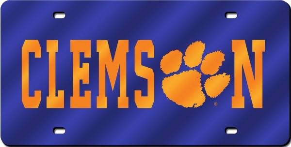 Rico Clemson Tigers Laser Tag License Plate product image