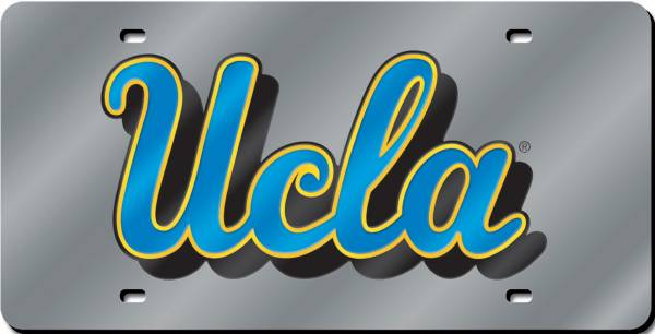 Rico UCLA Bruins Silver Laser Tag License Plate product image
