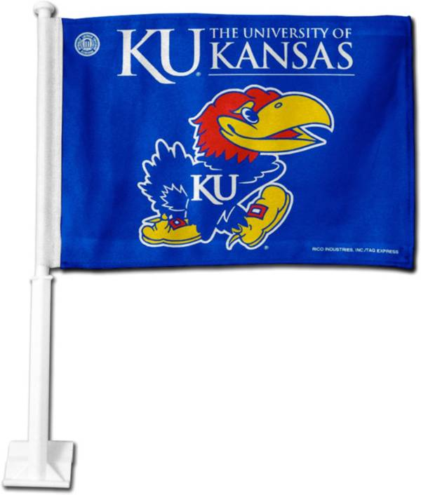 Rico Kansas Jayhawks Car Flag product image