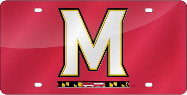 Rico Maryland Terrapins Red Laser Tag License Plate product image