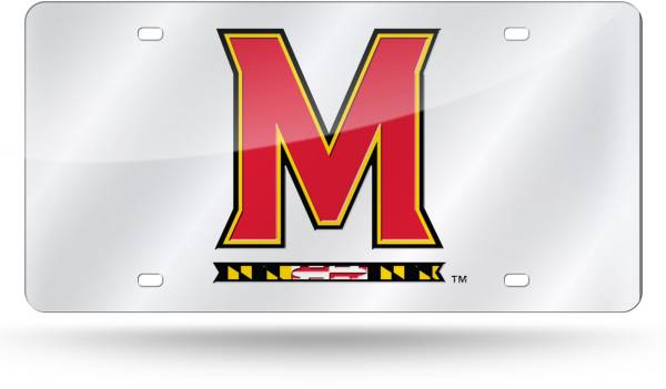Rico Maryland Terrapins Silver Laser Tag License Plate product image