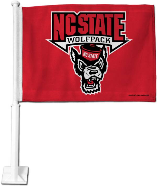Rico NC State Wolfpack Car Flag product image